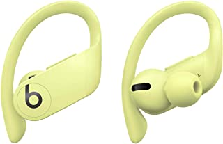 Powerbeats Pro Totally Wireless Earphones – Apple H1 headphone chip, Class 1 Bluetooth®, 9 hours of listening time, sweat-resistant earbuds – Spring Yellow