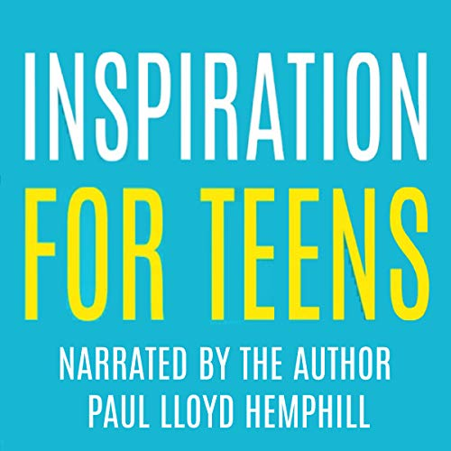 Inspiration for Teens audiobook cover art