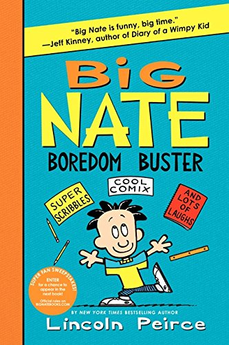 Big Nate Boredom Buster (Big Nate Activity Book)