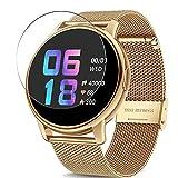 Vaxson 3 Stück Schutzfolie, kompatibel mit CanMixs B83 1.3' smartwatch Smart Watch, Displayschutzfolie TPU Folie [ nicht Panzerglas ]