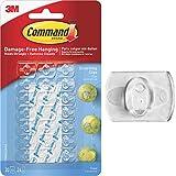 3M Command Molette Decorative con Strisce Chiare, Istruzioni Solo in Lingua Inglese...