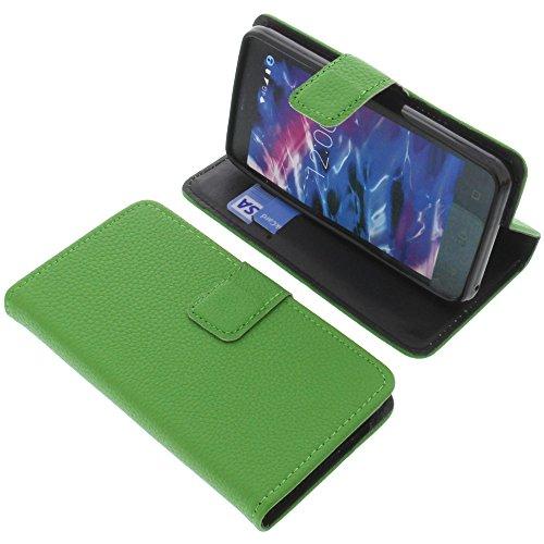foto-kontor Tasche für MEDION Life E4504 Book Style grün Schutz Hülle Buch