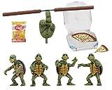 NECA TMNT (1990Film) 1/4Scale Action Figures-Baby Turtles Ensemble