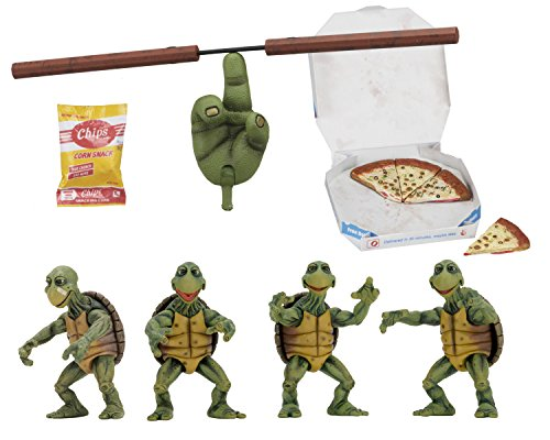 Neca Teenage Mutant Ninja Turtles Action Figure 4-Pack 1/4 Baby Turtles 10 cm