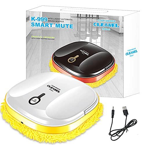 Robot Vacuum Cleaner, Smart Floor Dry & Wet Sweeping Robot 2-in-1 Vacuuming...