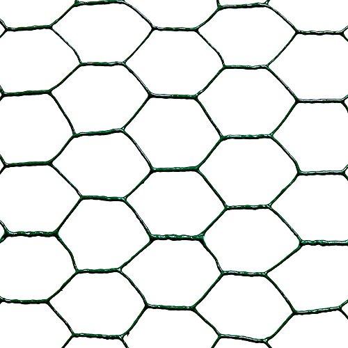 Catral 55020011–Rete Esagonale zincata, 50x 300x 4cm, Colore: Argento