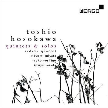 Toshio Hosokawa: Quintets and Solos