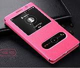 JiuRui étuis et Housses pour Huawei P30 P20 P10 Maté 20 Lite, Open Window Flip en Cuir pour Huawei...