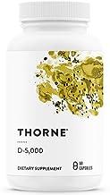 Thorne Research - D-5000 (5000 IU Preservative Free Vitamin D3) - 60's