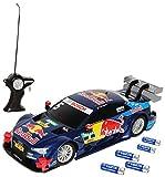 Maisto A-U-D-I RS5 A5 DTM Ekström Red Bull Team ABT Sportsline 2015 40 MHz RC Funkauto - inklusive Batterien - sofort startklar 1/24 Modell Auto mit individiuellem Wunschkennzeichen
