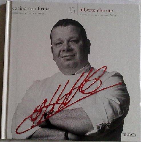 COCINA CON FIRMA, Nº15 Alberto Chicote