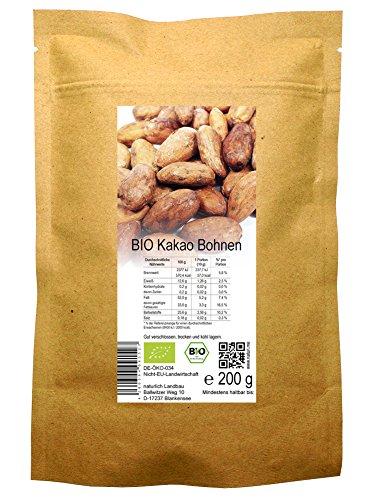 naturlich Landbau -  BIO Kakao Bohnen roh
