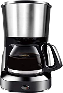 Filter Coffee M'ac'hine   600W Coffee Maker for Instant Coffee, Espresso, Boil-Dry Protection, Anti-Drip Function, Automat...