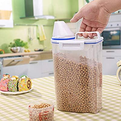 2L Cereal Storage Container,Organizing Containe...