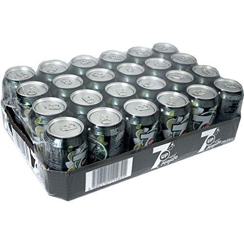 7up Mojito 24 x 0,33 litro - Seven Mojito Limonada (sin alcohol)