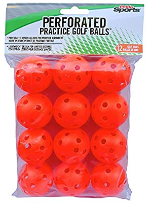 PrideSports PAWB5612 Orange Perforated