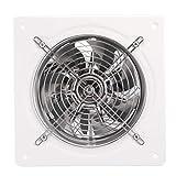 Aigid Ventilador de extracción de Pared, 220 V 180 mm Ventilador de extracción Industrial Ventilador de ventilación de Ventana de Pared para Uso en la Oficina de la Cocina