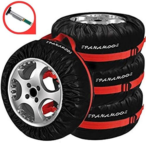 PANAMOO Spare Tire Cover Pack of Tread with Gauge 4 sale service S Best