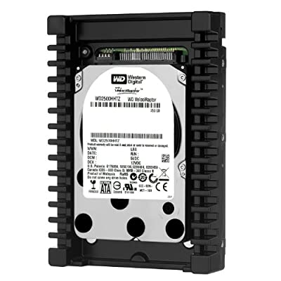 Western Digital VelociRaptor Workstation Hard Drive: 3.5 Inch, 10000 RPM, SATA III, 64 MB Cache by Western Digital