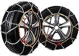 Wangcong Cadenas para la Nieve, Cadenas para neumáticos Cadenas para neumáticos de aleación para automóviles de Invierno, Cadena Antideslizante de Emergencia, Accesorios para vehículos todoterre