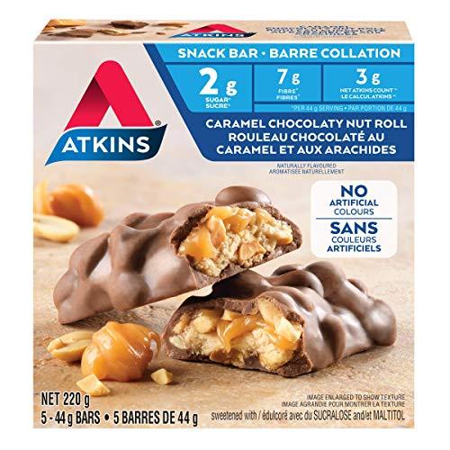 Atkins Snack Bar – Caramel Chocolate Nut Roll