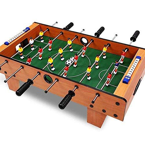 Deluxe Mini Tischplatte Billardtisch Mini Größe Foosball Tischspiele - Fun tragbare Multifunktions Foosball Erwachsene Familie Nachttischballspiel Spielzeug (Farbe: Farbe, Größe: 69x37x24.5cm) LLAN