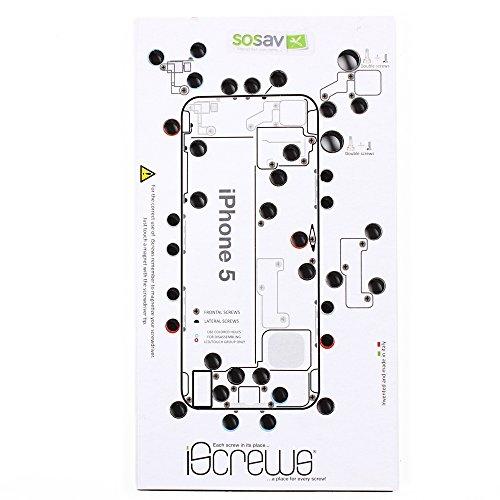 SoSav iScrews organizzatore di Viti per iPhone 5