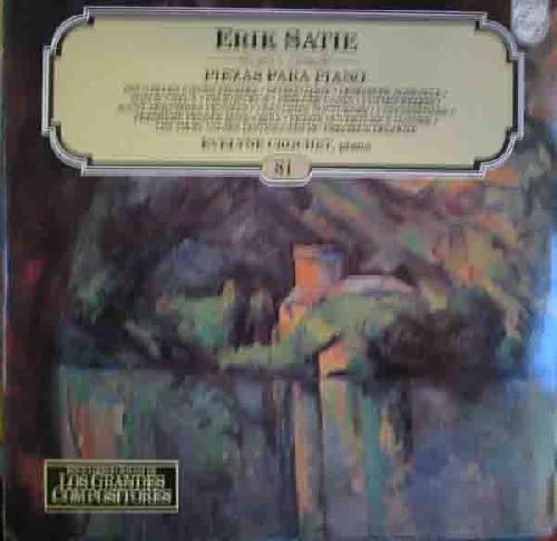Antiguo vinilo - Old Vinyl .- PIEZAS PARA PIANO. Evelyne Cro