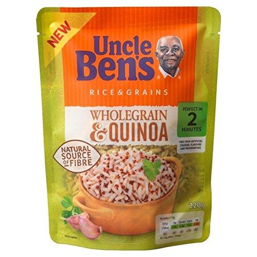 Uncle Ben's Wholegrain Quinoa Rice - OFFicial site Albuquerque Mall 220g Pack 2 of