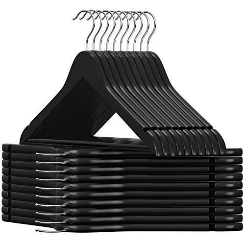 Black Wooden Coat Hangers