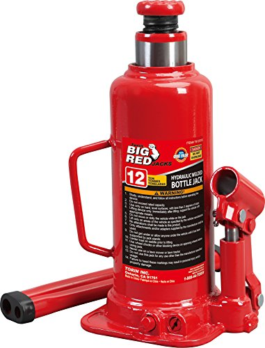 Best Prices! Torin Big Red Hydraulic Bottle Jack, 12 Ton (24,000 lb) Capacity
