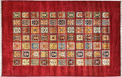 Teppichprinz Alfombra oriental Afgana Ziegler Khorjin 352 x 250, tejida a mano,...