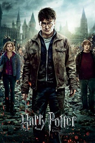 1art1 54728 Poster Harry Potter 7 Partie 2 L'Affrontement Final 91 x 61 cm