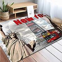 自由なカーペット、自家製のカーペット像の自由なカーペット像の滑り止めジム遊びのマットの家の装飾の汚れの抵抗力のある床のカーペット,F2,45X75cm