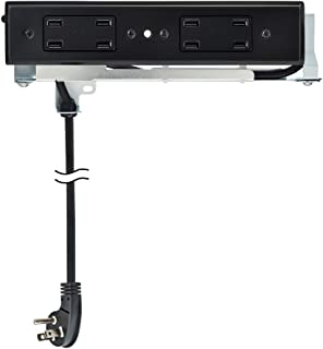 Docking Drawer   Blade Duo USB In-Drawer Charging Outlet   8 USB-A ports   Black   Easy to Install