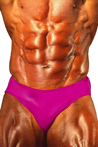Andreas Cahling Bodybuilding Physique Classic Posieren Badehose - Violett - Small