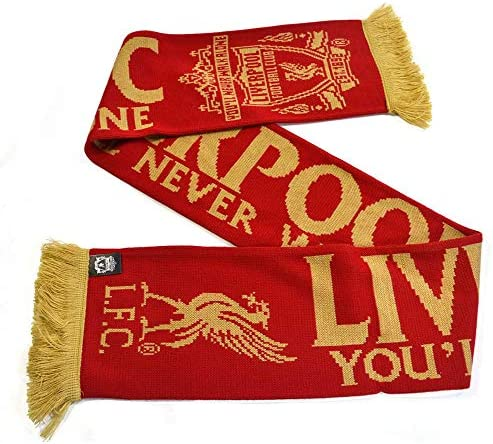 Liverpool Bar écharpe football Official Licensed Fantaisie Cadeau Accessoire