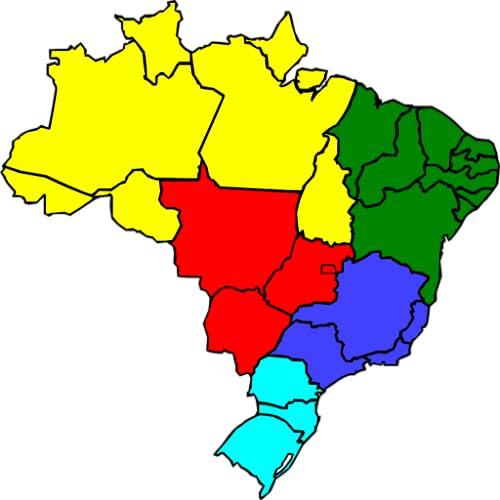Brazil States Geography Match FREE - http://medicalbooks.filipinodoctors.org