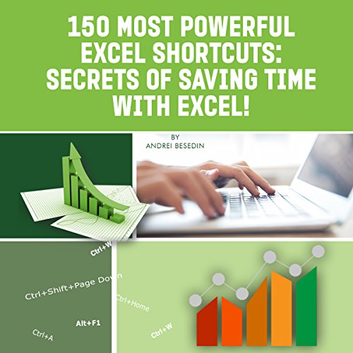 150 Most Powerful Excel Shortcuts  By  cover art