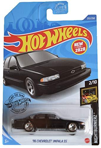 DieCast Hotwheels '96 Chey Impala SS 232/250 [Black], Nightburnerz 2/10 Hawaii