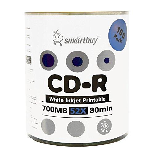 Smartbuy 100-disc 700mb/80min 52...