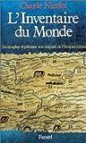 L'Inventaire du monde. Géographie et politique aux origines de l'Empire romain