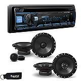 Best Alpine Bluetooth Audio Receivers - Alpine CDE-172BT Receiver w/Bluetooth, A Pair of Alpine Review