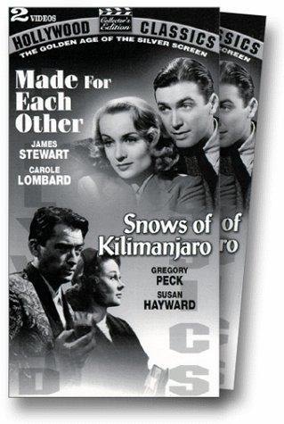 Made for Each Other/Snows of Kilimanjaro [VHS]