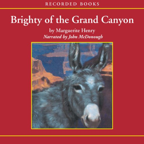 Brighty of the Grand Canyon audiobook cover art