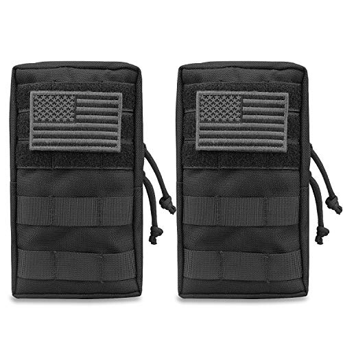 AMYIPO MOLLE Pouch Multi-Purpose Compact Tactical Waist Bags Small...