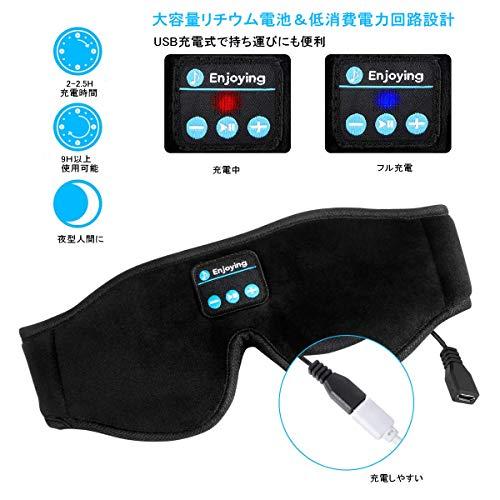 LANZO『Bluetooth5.0アイマスク』