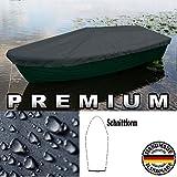 Holi Europe Premium Premium Boot Persenning - Anka, Ruderboot, Schlauchboot, Angelboot & Co Bootsplane extrem reißfest (Anthrazit, 450 cm x 150 cm)