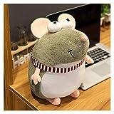 Juguetes de Peluche Kawaii ratón Mascota Almohada Suave Peluche muñecas rellenas Juguetes Animal para niños niña decoración decoración de año Nuevo Regalo de año Nuevo Regalo
