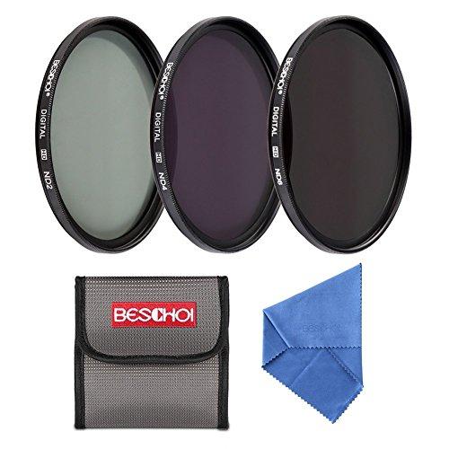 Beschoi kit filtri neutri ND2ND4ND8per Canon Nikon DSLR